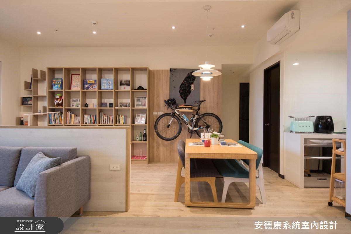 49坪新成屋(5年以下)_北歐風餐廳案例圖片_安德康系統室內設計_安德康_92之5