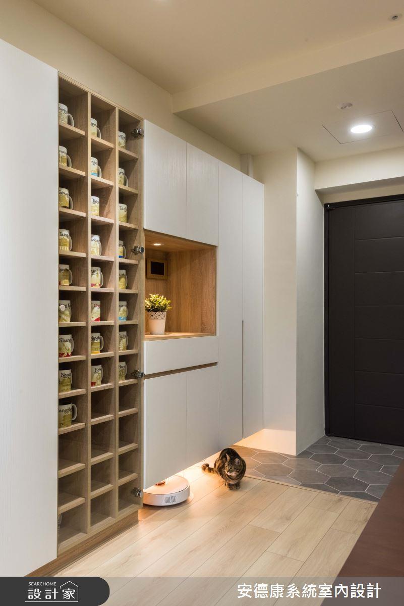 20坪新成屋(5年以下)_北歐風玄關案例圖片_安德康系統室內設計_安德康_93之2