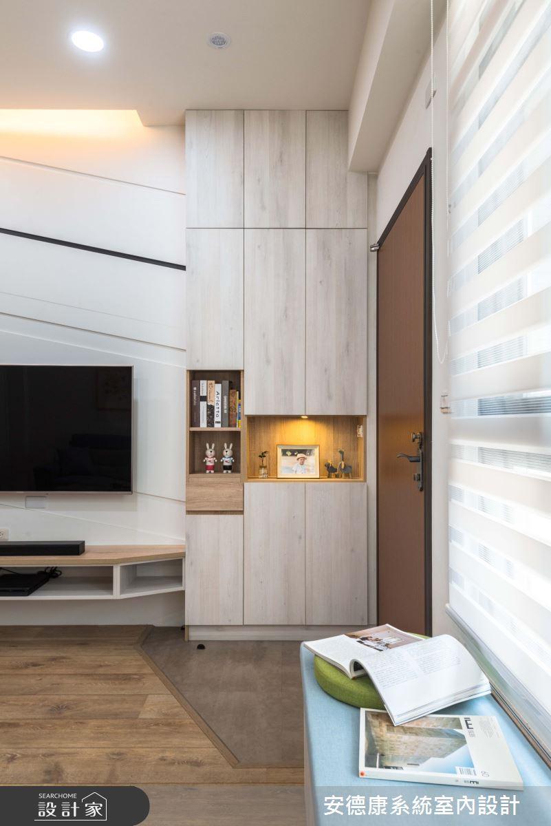 18坪新成屋(5年以下)_北歐簡約風客廳案例圖片_安德康系統室內設計_安德康_94之2