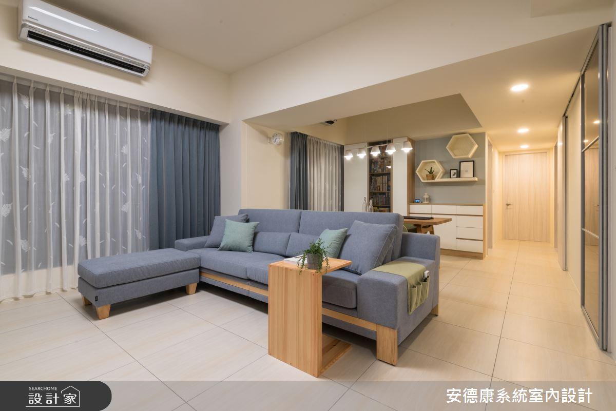 30坪新成屋(5年以下)_現代風客廳案例圖片_安德康系統室內設計_安德康_100之3
