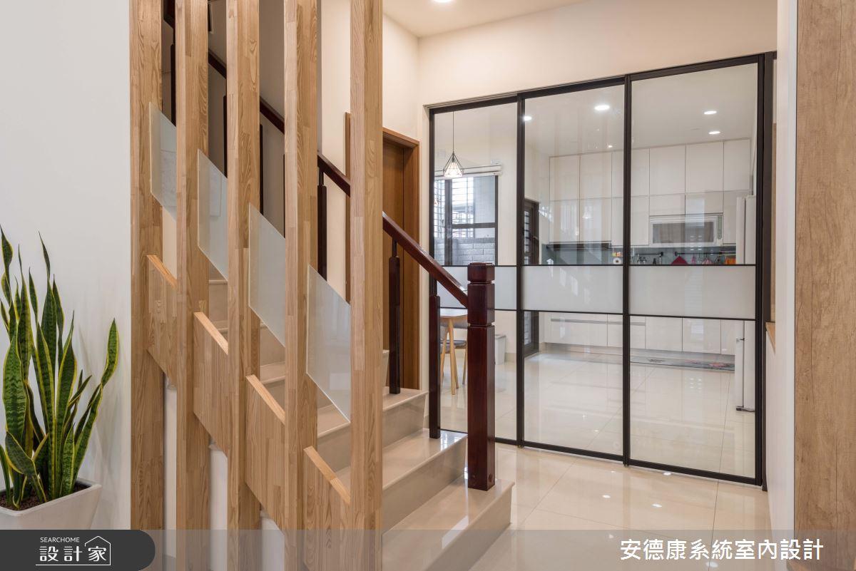57坪新成屋(5年以下)_北歐風樓梯案例圖片_安德康系統室內設計_安德康_102之6
