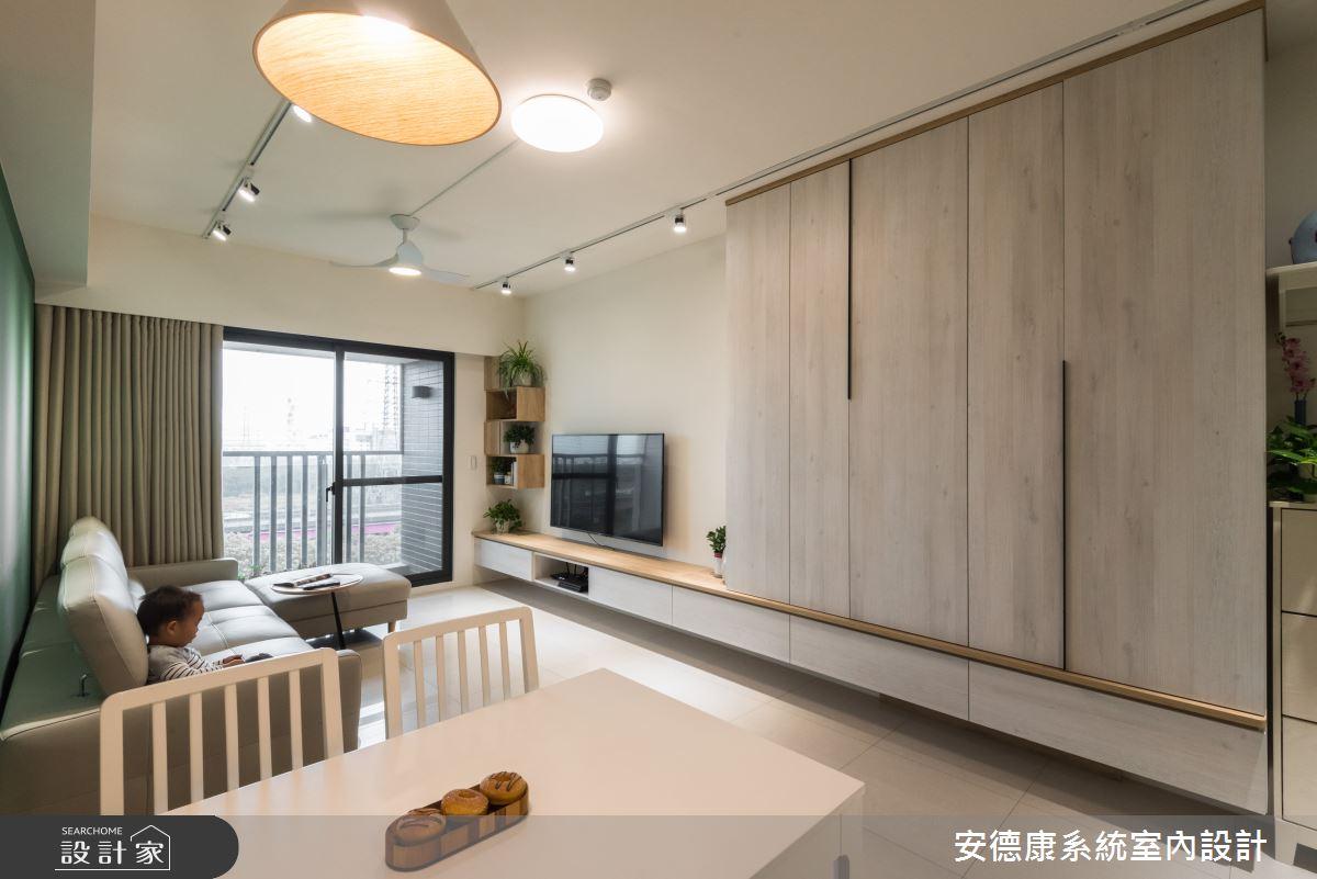 21坪新成屋(5年以下)_混搭風餐廳案例圖片_安德康系統室內設計_安德康_104之3
