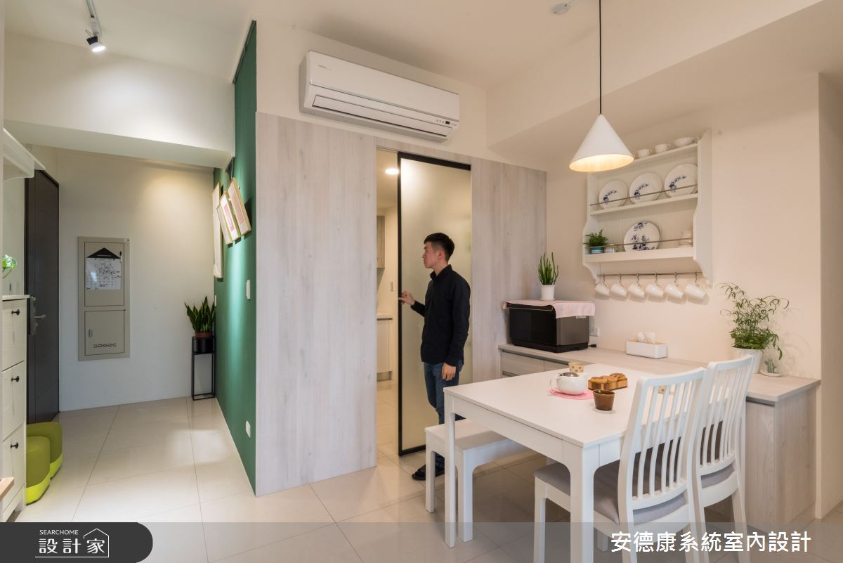 21坪新成屋(5年以下)_混搭風餐廳案例圖片_安德康系統室內設計_安德康_104之2