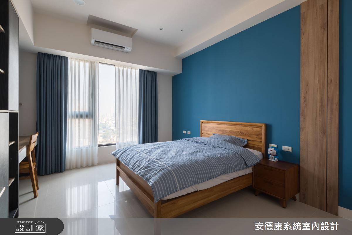 45坪新成屋(5年以下)_混搭風臥室案例圖片_安德康系統室內設計_安德康_105之18