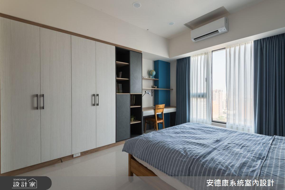 45坪新成屋(5年以下)_混搭風臥室案例圖片_安德康系統室內設計_安德康_105之19