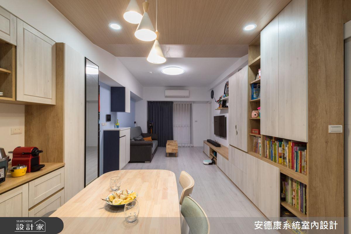 25坪新成屋(5年以下)_北歐風餐廳案例圖片_安德康系統室內設計_安德康_107之4