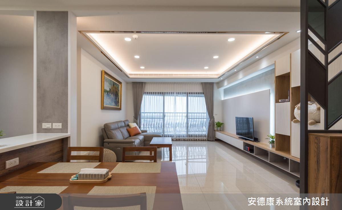 46坪新成屋(5年以下)_混搭風餐廳案例圖片_安德康系統室內設計_安德康_109之4