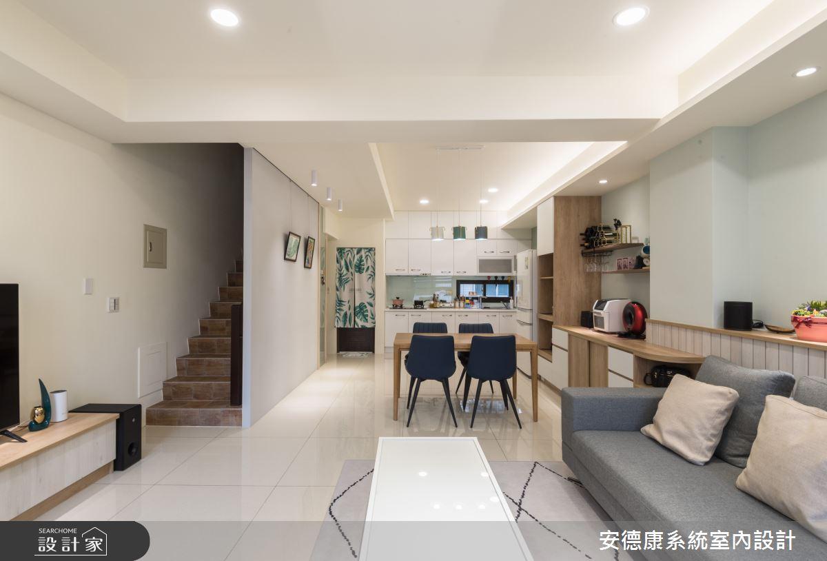 40坪新成屋(5年以下)_混搭風餐廳案例圖片_安德康系統室內設計_安德康_113之5