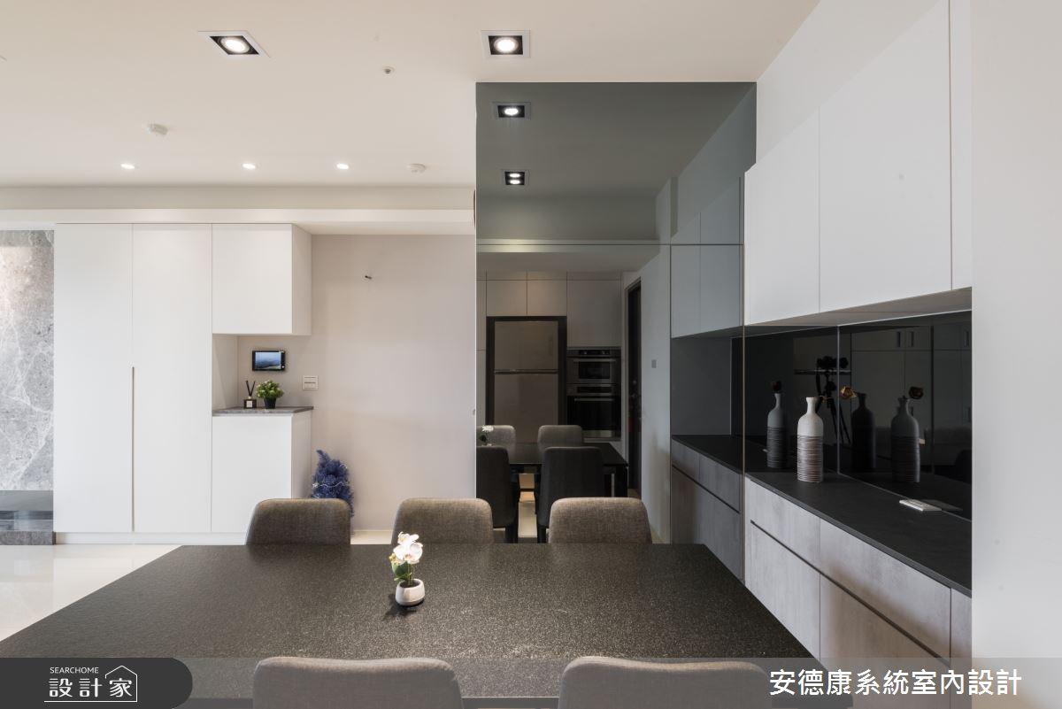 45坪新成屋(5年以下)_現代風餐廳案例圖片_安德康系統室內設計_安德康_115之5