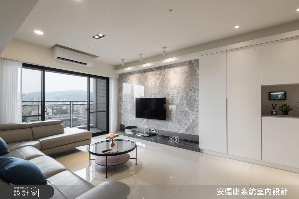 45坪新成屋(5年以下)_現代風客廳案例圖片_安德康系統室內設計_安德康_115之2