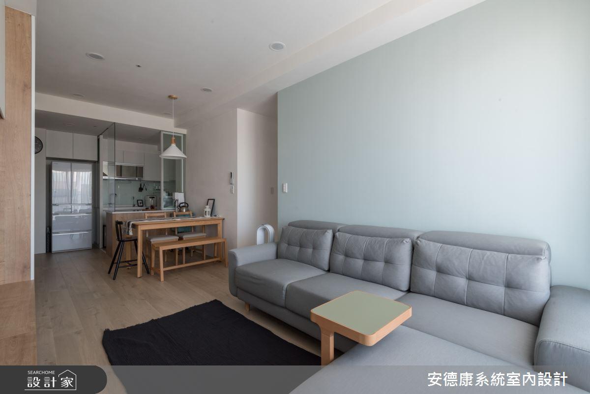 18坪新成屋(5年以下)_現代風客廳餐廳案例圖片_安德康系統室內設計_安德康_116之5