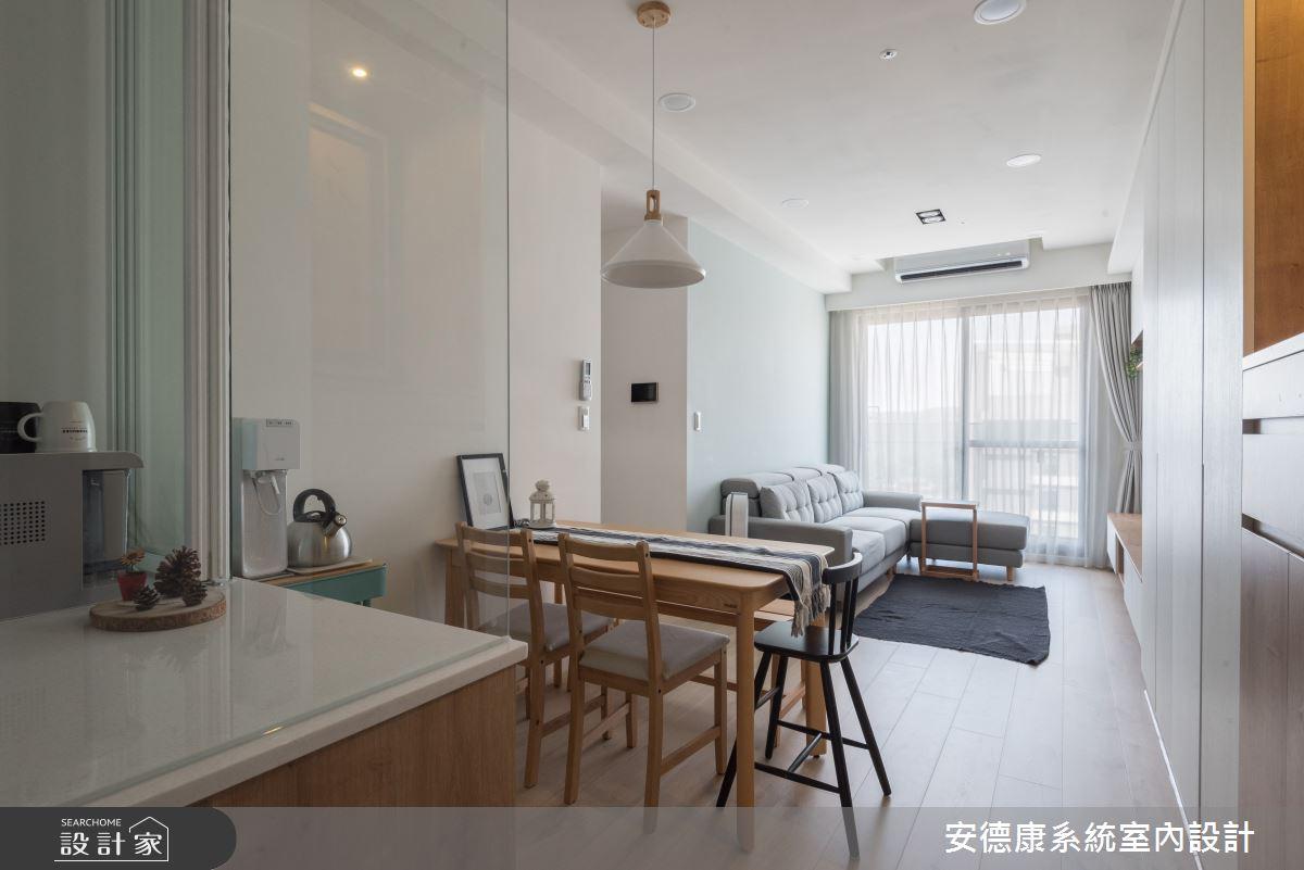 18坪新成屋(5年以下)_現代風餐廳案例圖片_安德康系統室內設計_安德康_116之2