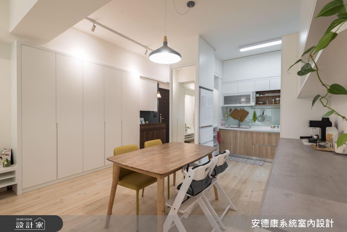 20坪新成屋(5年以下)_北歐風案例圖片_安德康系統室內設計_安德康_117之4