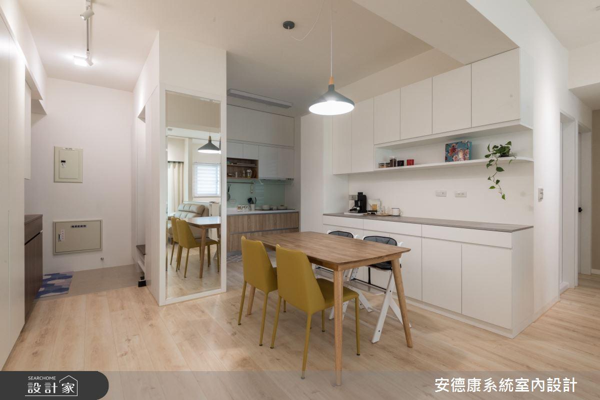 20坪新成屋(5年以下)_北歐風案例圖片_安德康系統室內設計_安德康_117之5