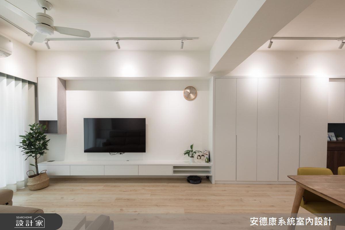 20坪新成屋(5年以下)_北歐風案例圖片_安德康系統室內設計_安德康_117之6