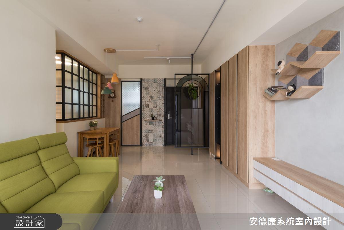 20坪新成屋(5年以下)_混搭風案例圖片_安德康系統室內設計_安德康_118之5
