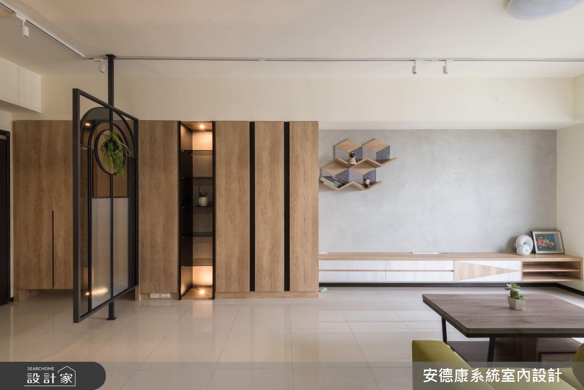 20坪新成屋(5年以下)_混搭風案例圖片_安德康系統室內設計_安德康_118之4