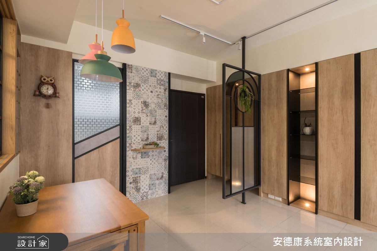 20坪新成屋(5年以下)_混搭風案例圖片_安德康系統室內設計_安德康_118之2