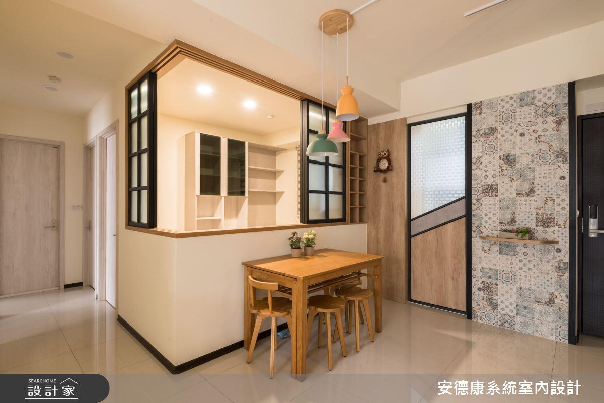 20坪新成屋(5年以下)_混搭風案例圖片_安德康系統室內設計_安德康_118之8
