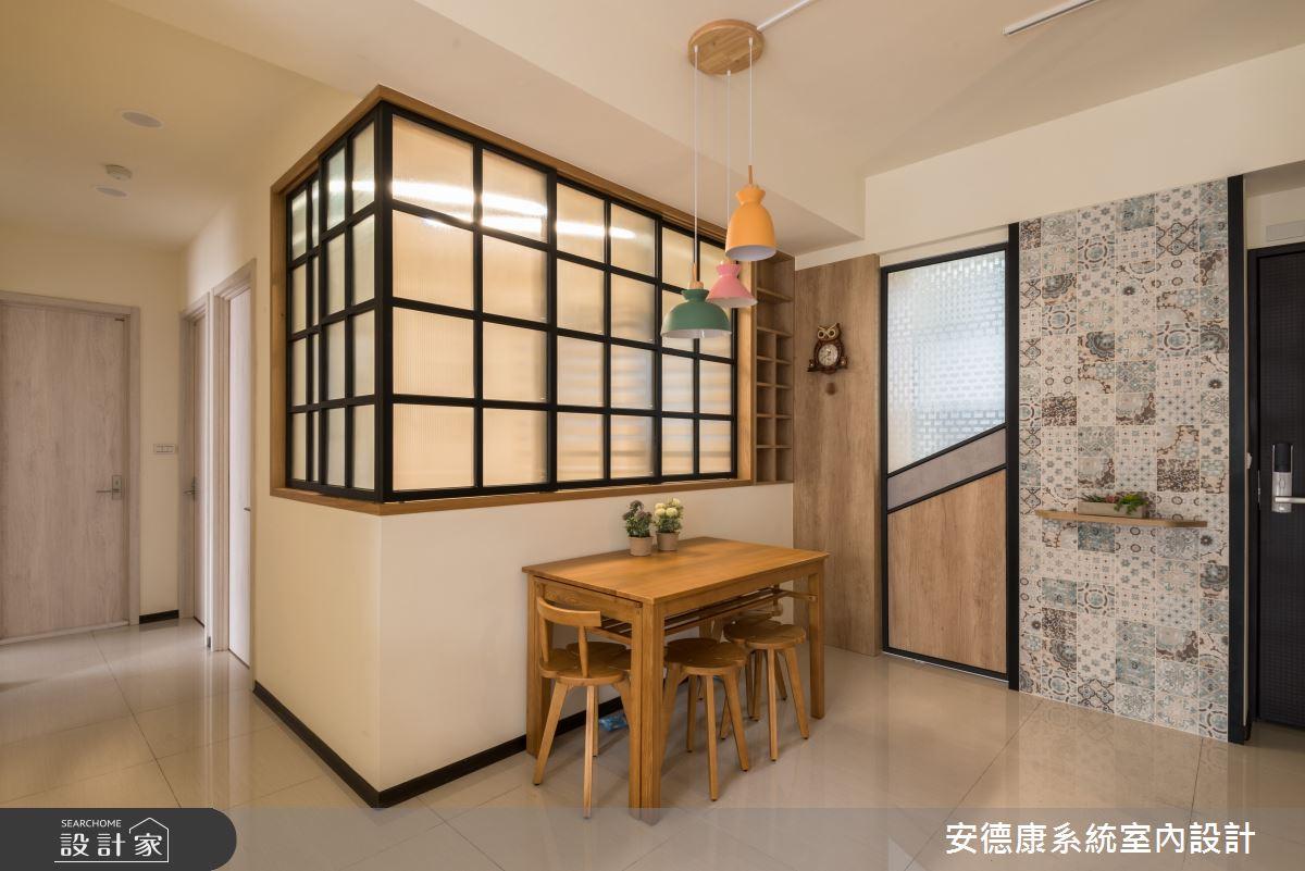 20坪新成屋(5年以下)_混搭風案例圖片_安德康系統室內設計_安德康_118之7