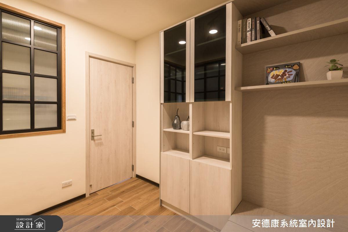 20坪新成屋(5年以下)_混搭風案例圖片_安德康系統室內設計_安德康_118之9