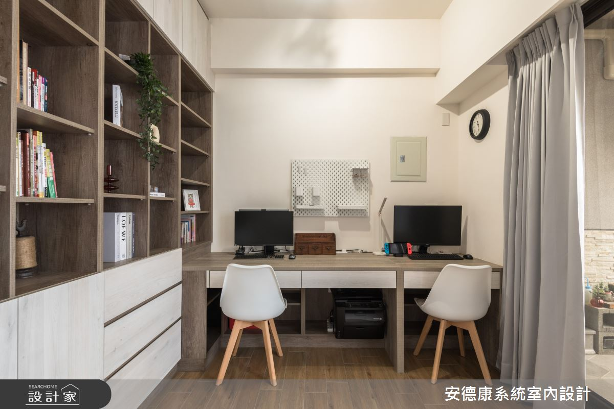 40坪新成屋(5年以下)_混搭風案例圖片_安德康系統室內設計_安德康_119之8
