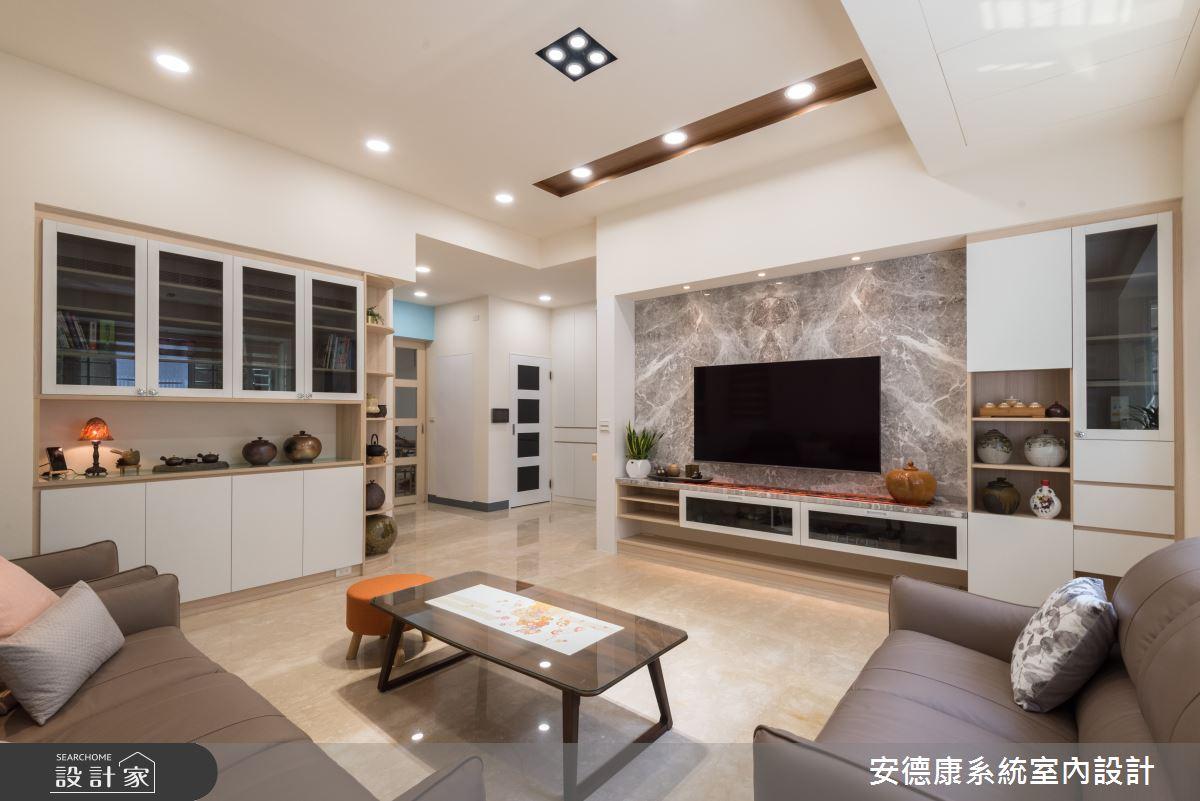 80坪新成屋(5年以下)_混搭風案例圖片_安德康系統室內設計_安德康_121之2