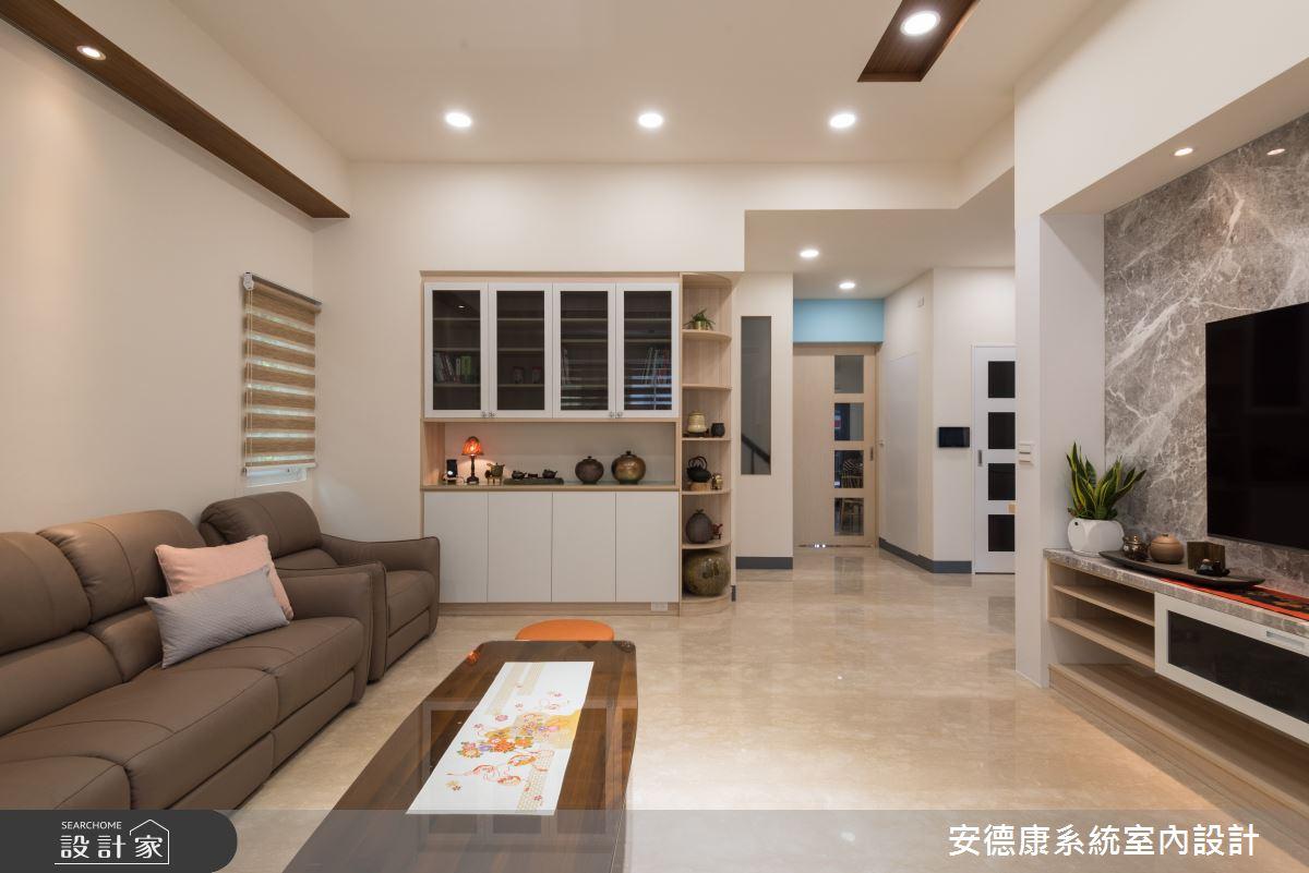 80坪新成屋(5年以下)_混搭風案例圖片_安德康系統室內設計_安德康_121之3
