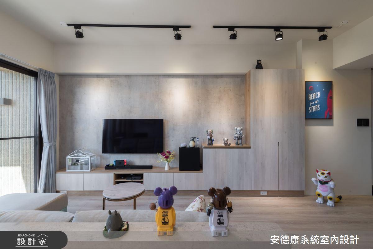 25坪新成屋(5年以下)_混搭風案例圖片_安德康系統室內設計_安德康_122之5