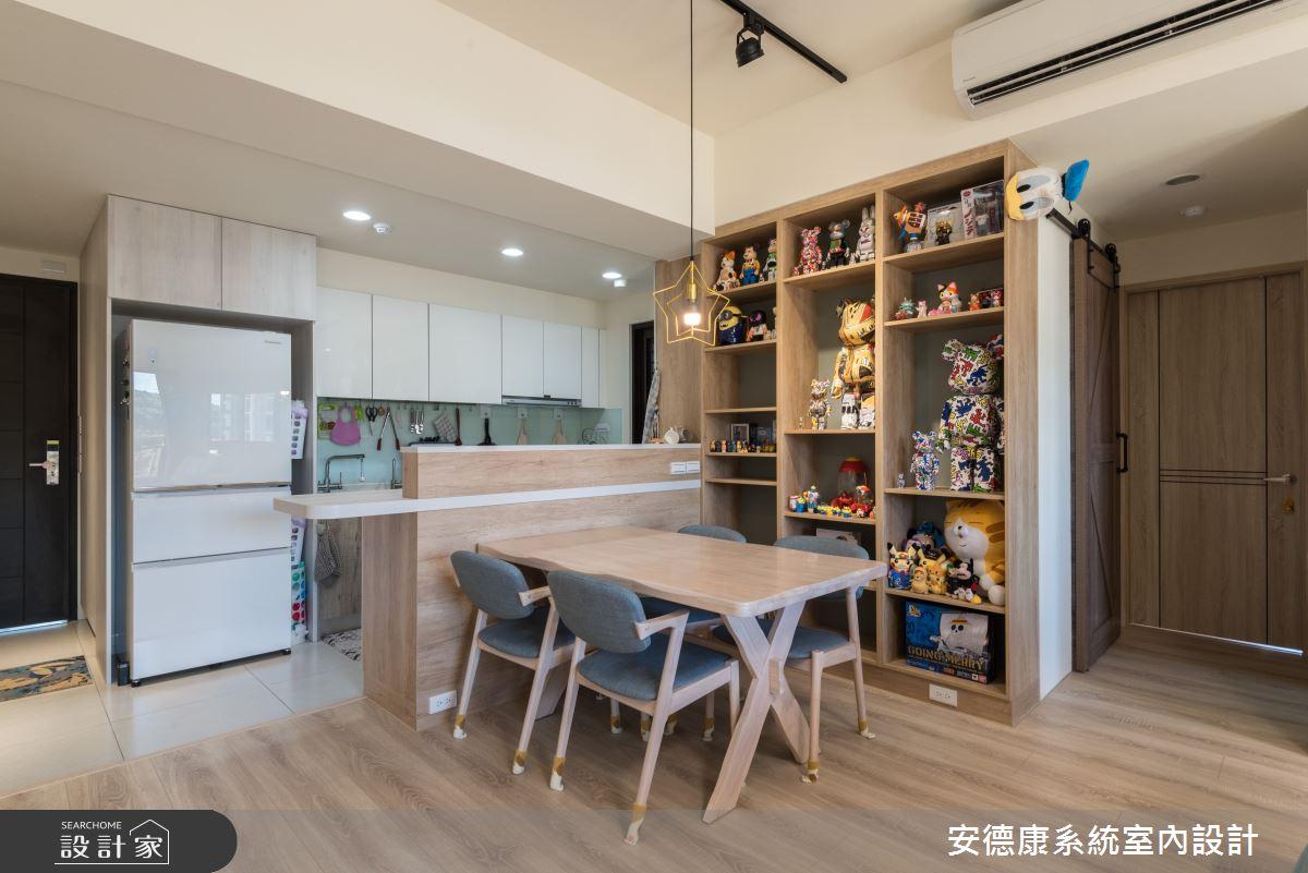 25坪新成屋(5年以下)_混搭風案例圖片_安德康系統室內設計_安德康_122之8