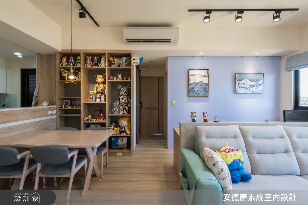 25坪新成屋(5年以下)_混搭風案例圖片_安德康系統室內設計_安德康_122之9