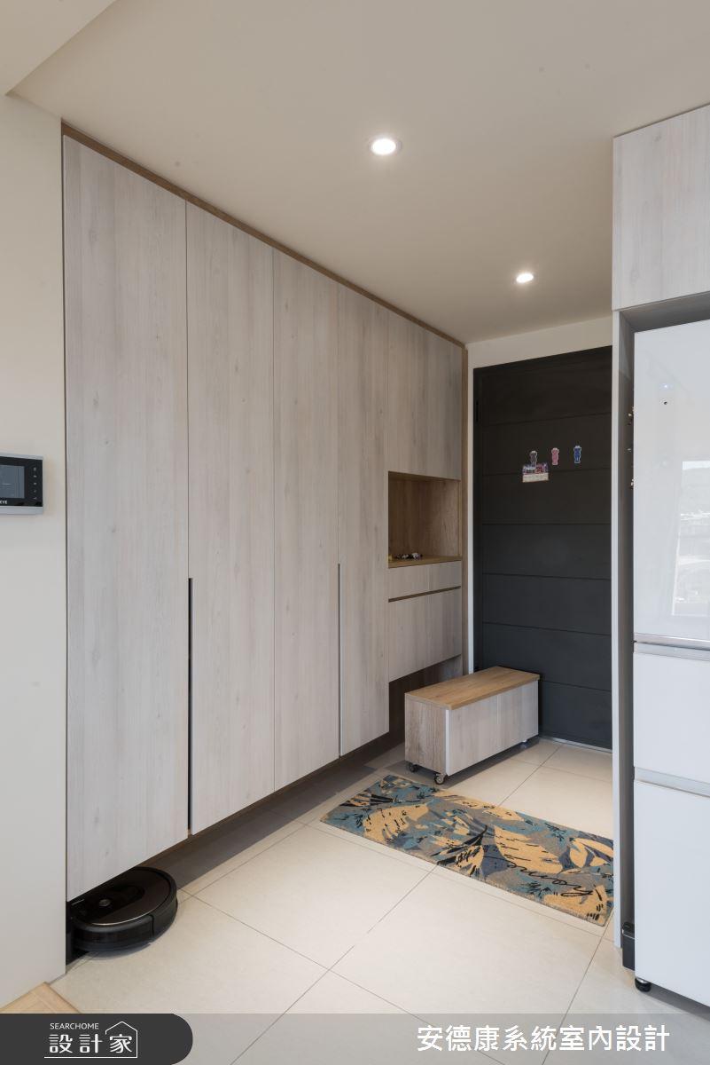 25坪新成屋(5年以下)_混搭風案例圖片_安德康系統室內設計_安德康_122之2