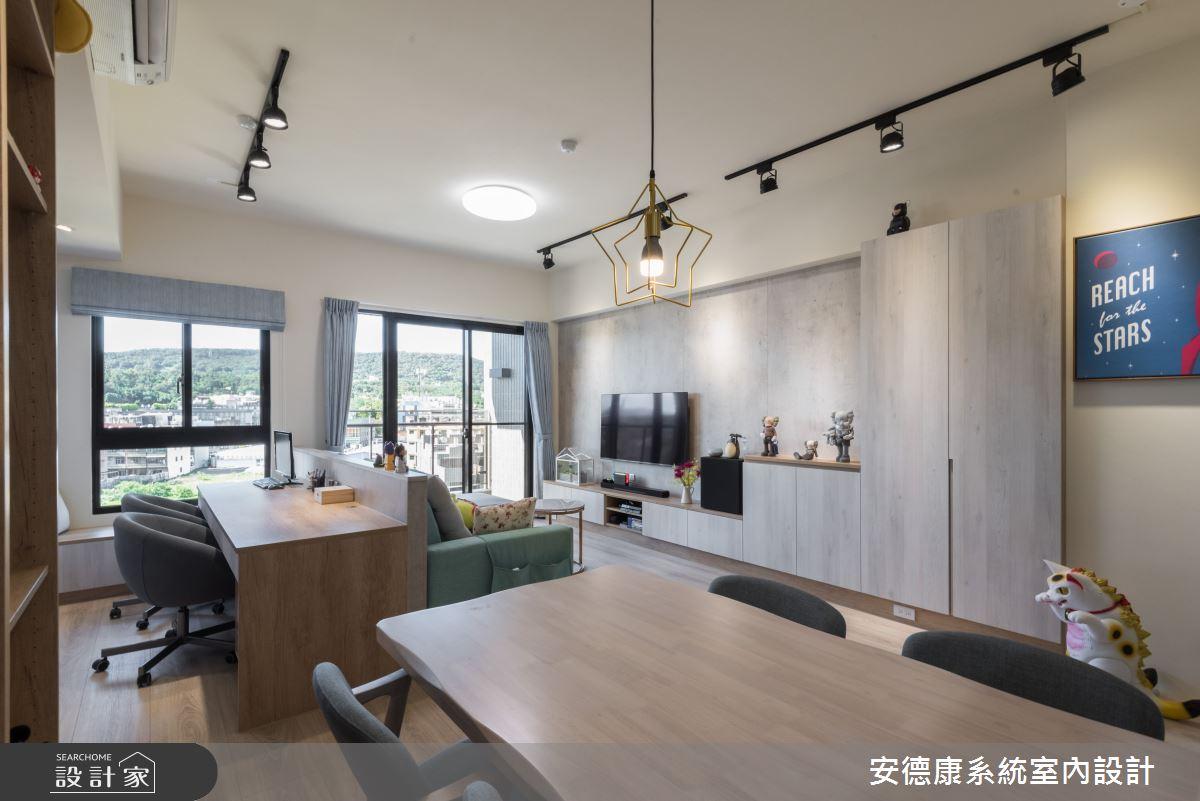 25坪新成屋(5年以下)_混搭風案例圖片_安德康系統室內設計_安德康_122之10