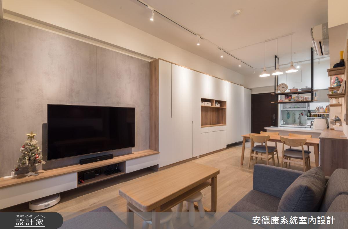 新成屋(5年以下)_北歐風案例圖片_安德康系統室內設計_安德康_123之6