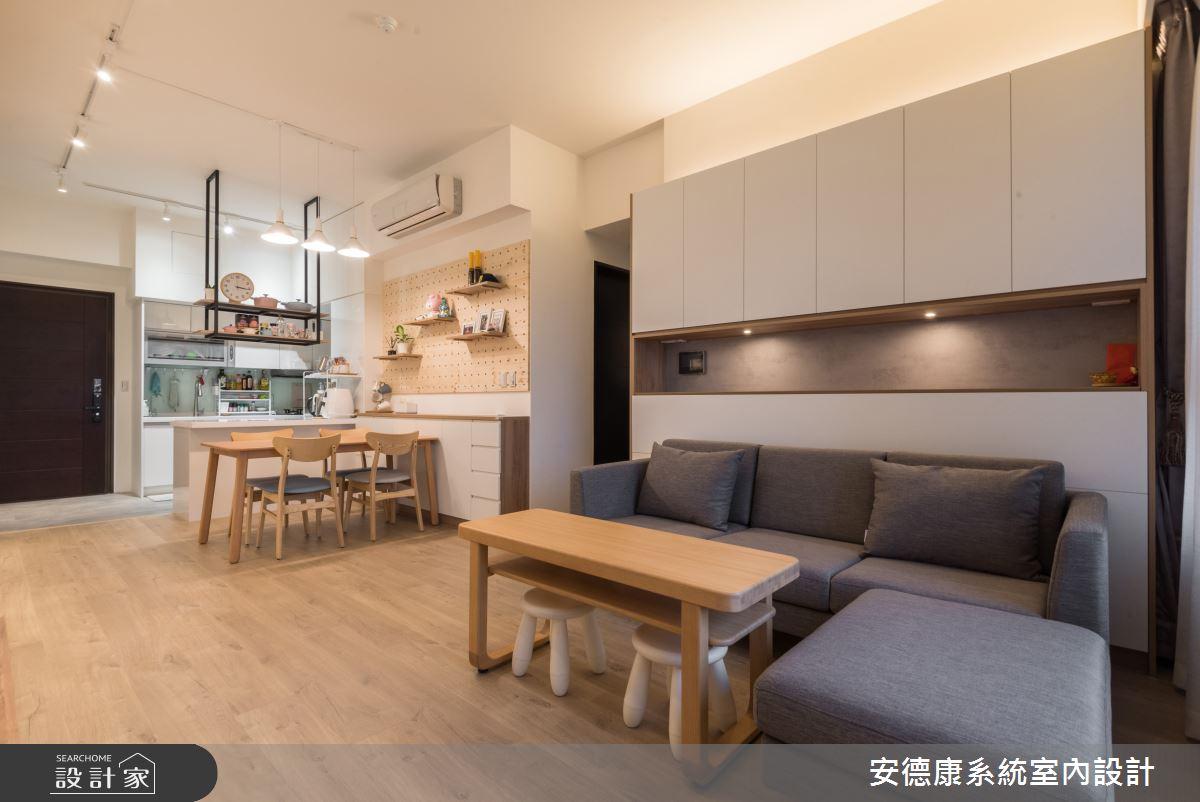 新成屋(5年以下)_北歐風案例圖片_安德康系統室內設計_安德康_123之8