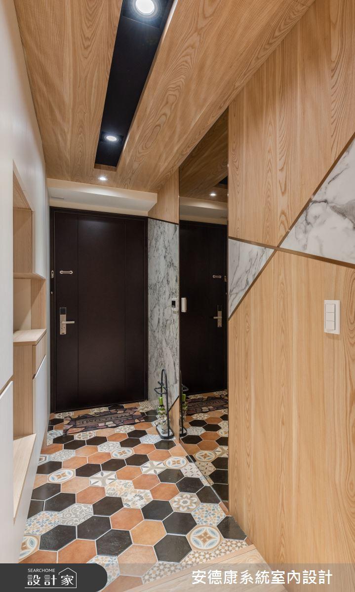 25坪新成屋(5年以下)_混搭風案例圖片_安德康系統室內設計_安德康_125之1