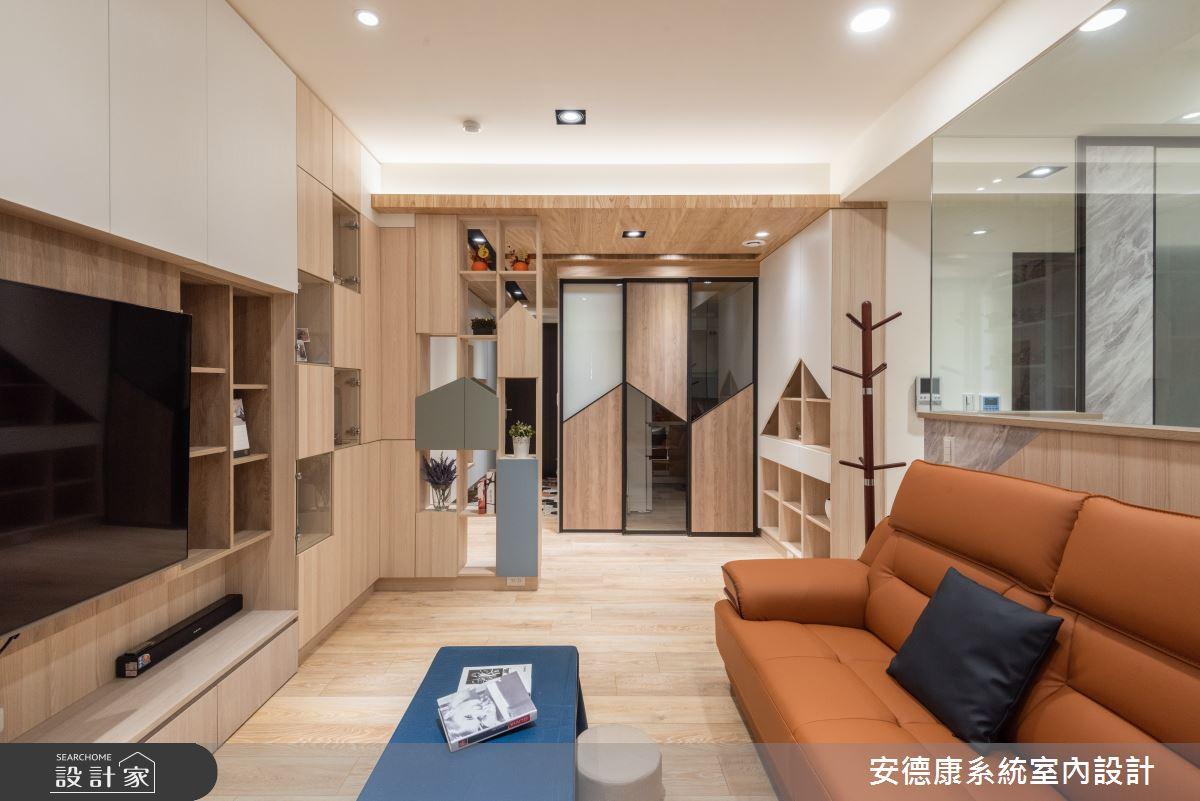 25坪新成屋(5年以下)_混搭風案例圖片_安德康系統室內設計_安德康_125之7