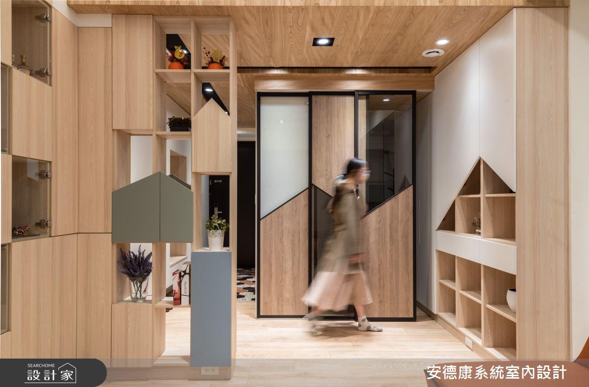 25坪新成屋(5年以下)_混搭風案例圖片_安德康系統室內設計_安德康_125之4