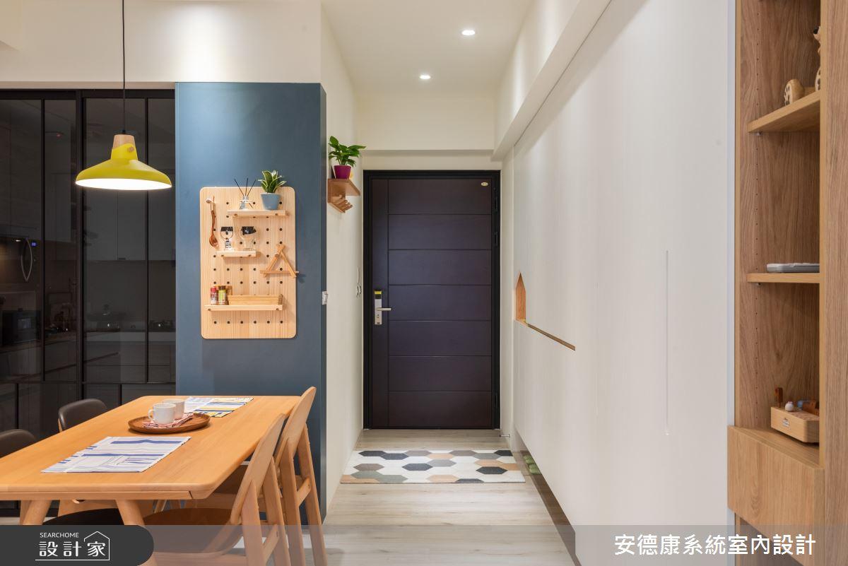 23坪新成屋(5年以下)_北歐風案例圖片_安德康系統室內設計_安德康_126之1