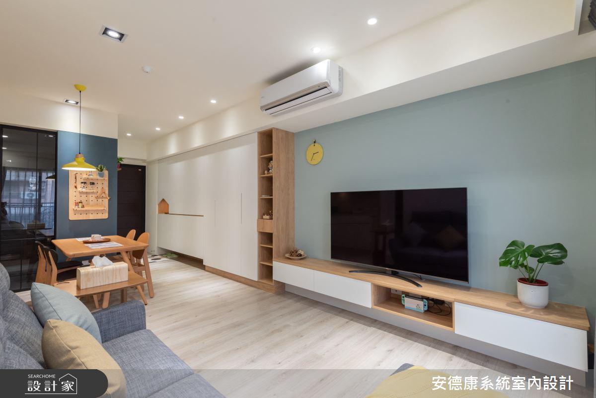 23坪新成屋(5年以下)_北歐風案例圖片_安德康系統室內設計_安德康_126之6