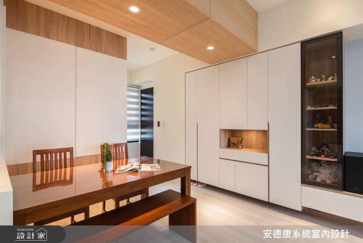18坪新成屋(5年以下)_混搭風案例圖片_安德康系統室內設計_安德康_127之3