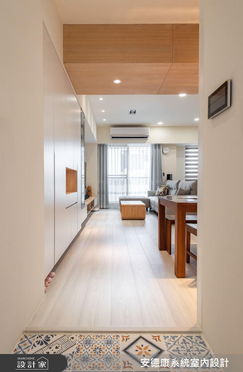 18坪新成屋(5年以下)_混搭風案例圖片_安德康系統室內設計_安德康_127之1