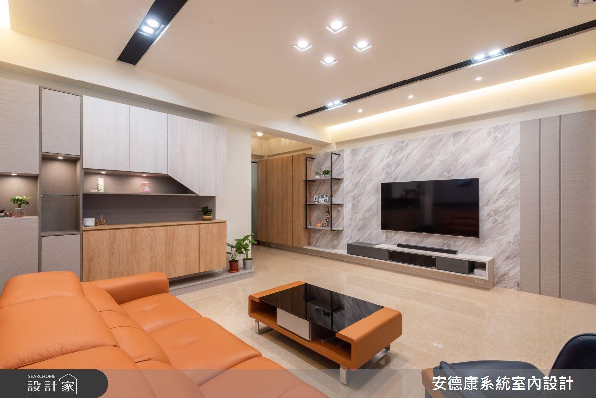 56坪新成屋(5年以下)_混搭風案例圖片_安德康系統室內設計_安德康_129之3