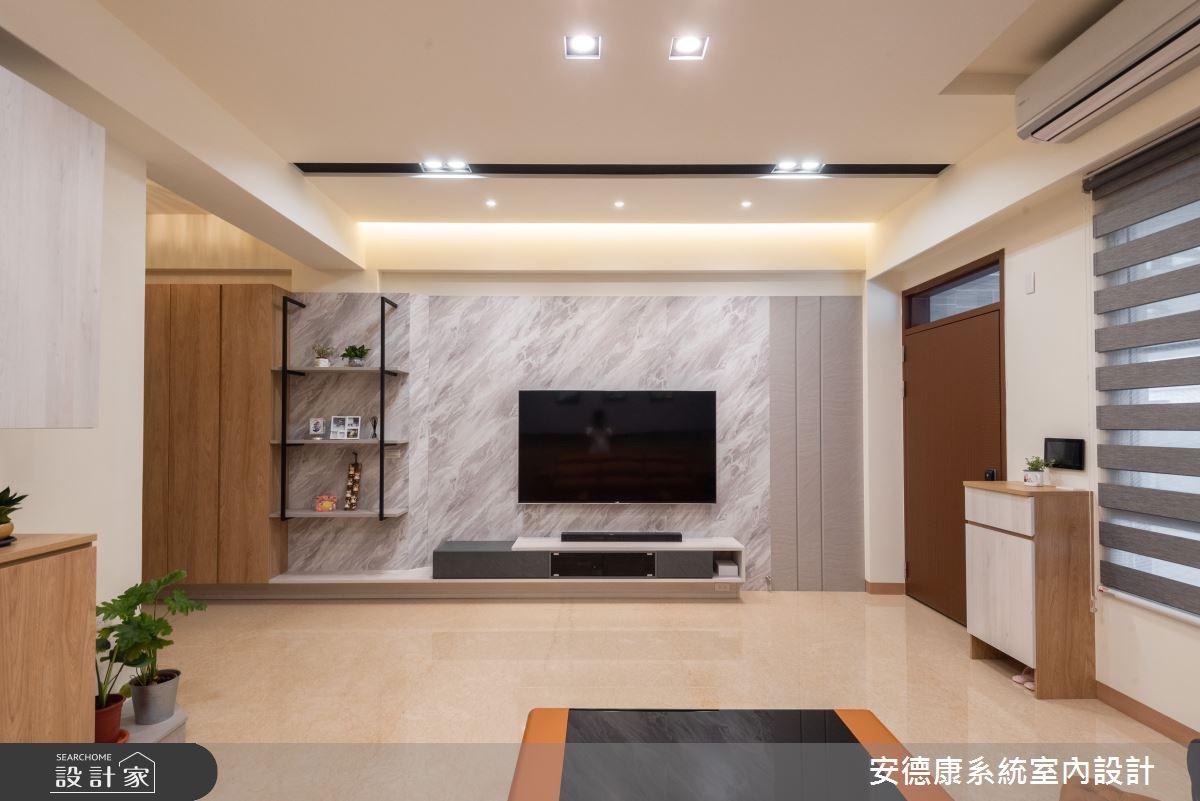 56坪新成屋(5年以下)_混搭風案例圖片_安德康系統室內設計_安德康_129之2