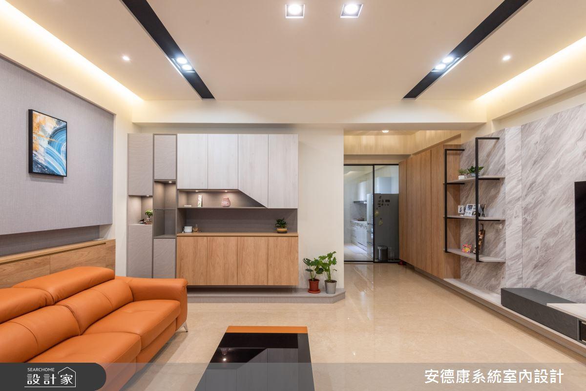56坪新成屋(5年以下)_混搭風案例圖片_安德康系統室內設計_安德康_129之4