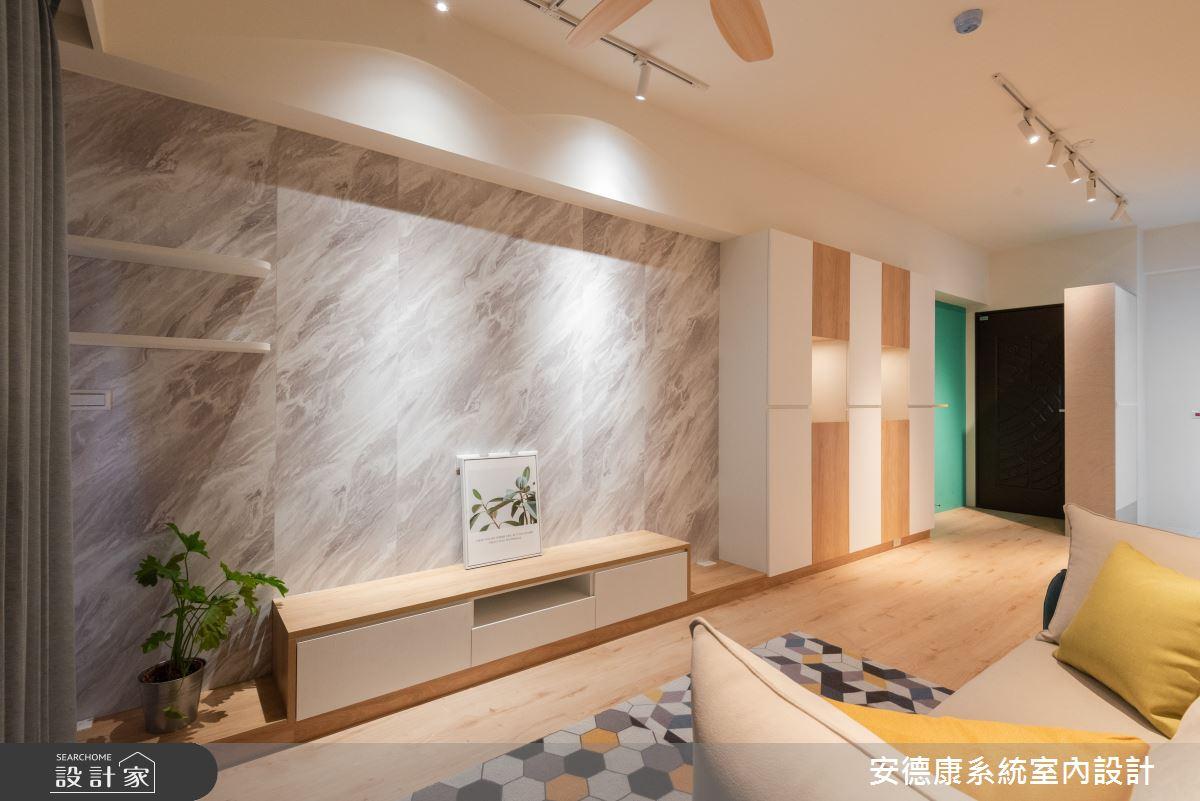 20坪新成屋(5年以下)_北歐風案例圖片_安德康系統室內設計_安德康_130之3
