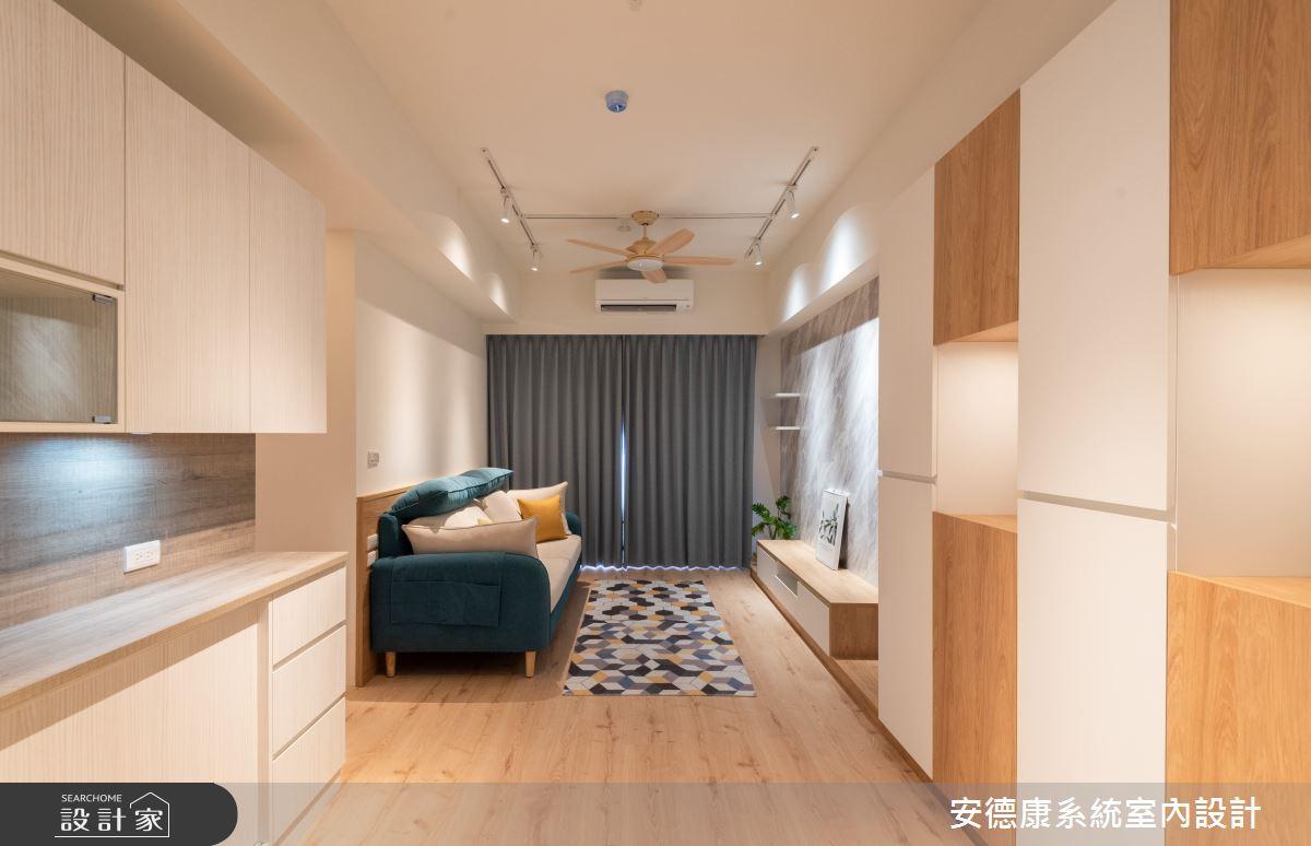 20坪新成屋(5年以下)_北歐風案例圖片_安德康系統室內設計_安德康_130之2