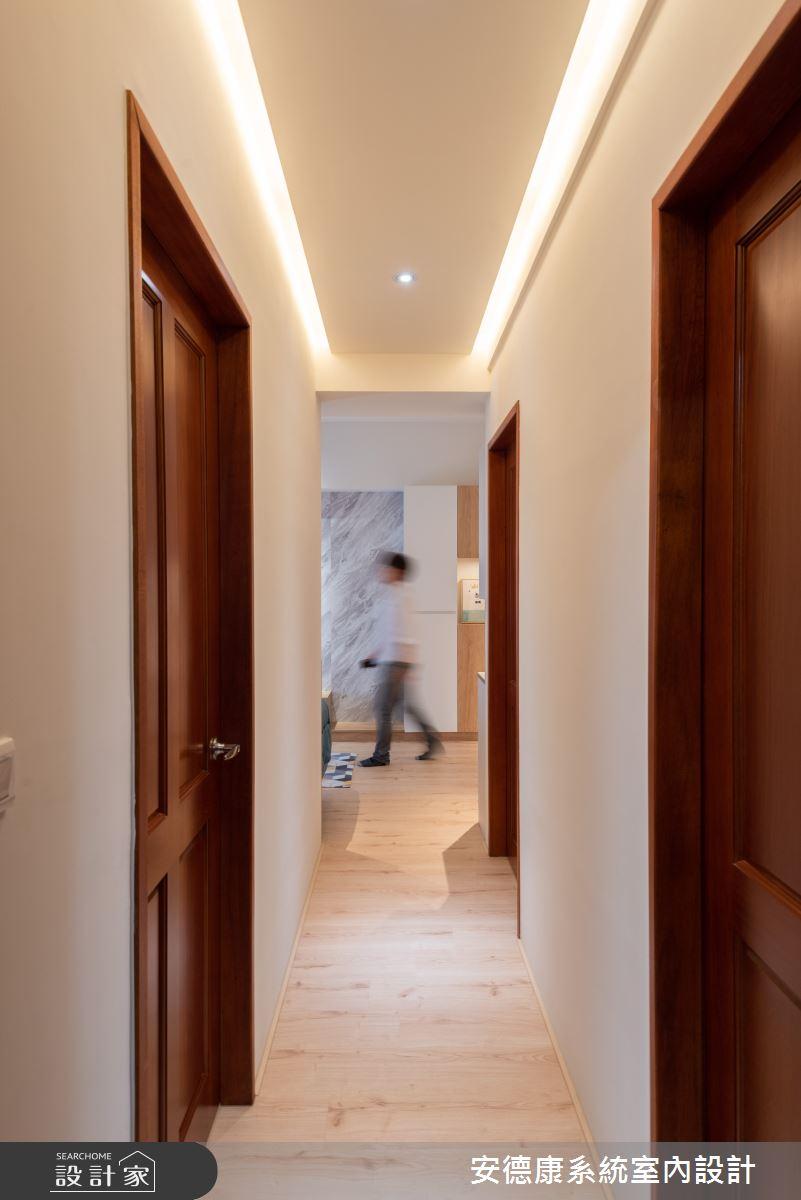 20坪新成屋(5年以下)_北歐風走廊案例圖片_安德康系統室內設計_安德康_130之9