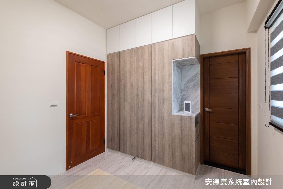 20坪新成屋(5年以下)_北歐風臥室案例圖片_安德康系統室內設計_安德康_130之10