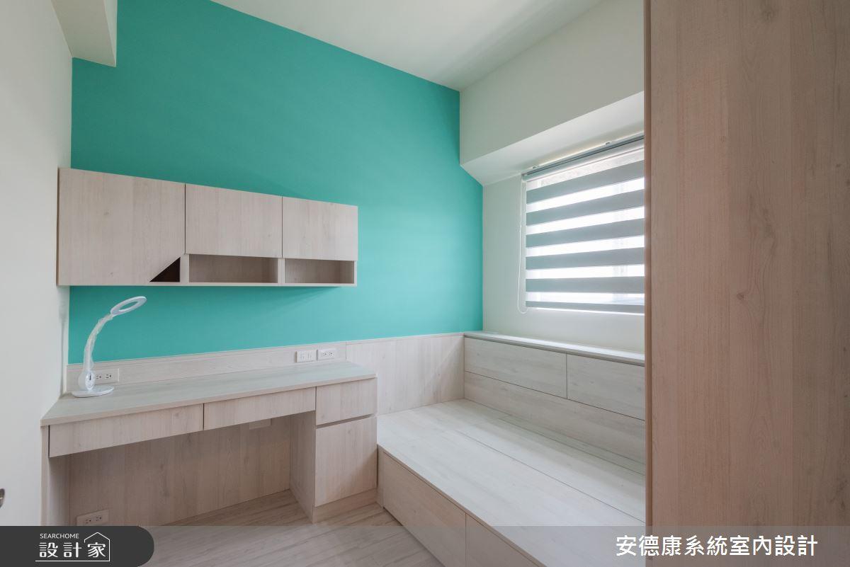 20坪新成屋(5年以下)_北歐風臥室兒童房兒童房案例圖片_安德康系統室內設計_安德康_130之11
